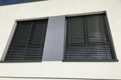 Fenêtre Schüco avec les stores